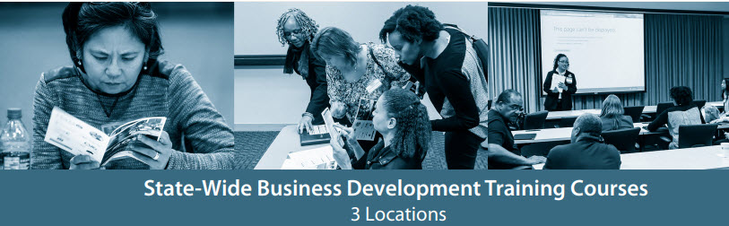 State-Wide Business Development Training Courses
